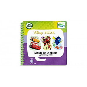 LeapStart® 2 Book Combo Pack: Math in Action and Toys Save the Day Ages 3-6 yrs. - Clearance Sale