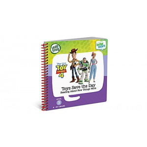 LeapStart® Toy Story 4 Toys Save the Day Reading About How Things Work Ages 3-6 yrs. - Clearance Sale