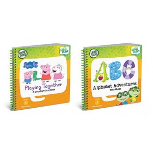 LeapStart® 2 Book Combo Pack: Playing Together and Alphabet Adventures Ages 2-5 yrs. - Clearance Sale