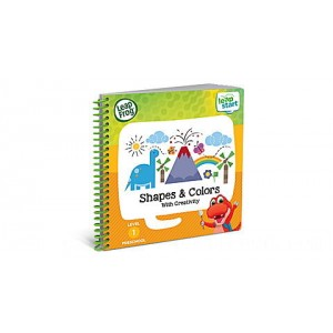 LeapStart™ Preschool Shapes & Colors Activity Book Ages 2-4 yrs. - Clearance Sale