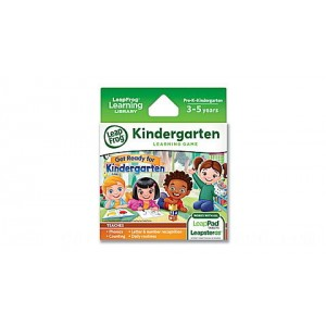 LeapPad® Game Cartridge 2-Pack Get Ready for Kindergarten & Preschool Adventures Ages 3-5 yrs. - Clearance Sale
