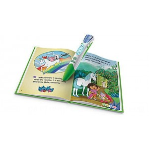 LeapReader™ Book: Dora the Explorer: Tale of the Unicorn King Ages 4-6 yrs. - Clearance Sale