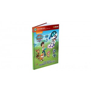 LeapReader™ Book: PAW Patrol: The Great Robot Rescue Ages 4-5 yrs. - Clearance Sale