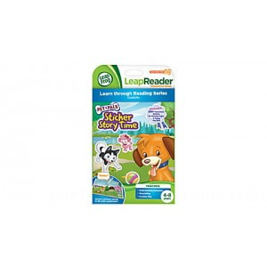 LeapReader™ Book: Pet Pals Sticker Story Time Ages 4-8 yrs. - Clearance Sale