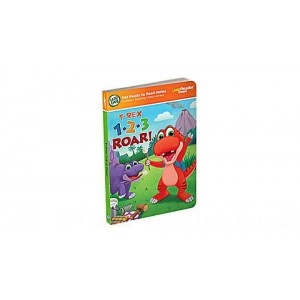 LeapReader™ Junior 1,2,3 Roar Counting Book Ages 1-3 yrs. - Clearance Sale