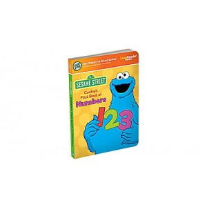 LeapReader™ Junior Book: Cookie Monster's First Book of Numbers Ages 2-3 yrs. - Clearance Sale