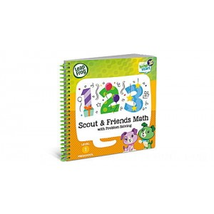 LeapStart® 3D Scout & Friends Math with Problem Solving Ages 2-5 yrs. - Clearance Sale