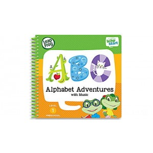 LeapStart® Alphabet Adventures with Music 30+ Page Activity Book Ages 2-4 yrs. - Clearance Sale