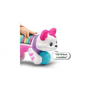 Count & Crawl Number Kitty - Online Exclusive Pink Ages 9-24 months - Clearance Sale