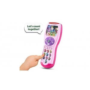 Violet's Learning Lights Remote - Online Exclusive Pink Ages 6-36 months - Clearance Sale
