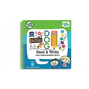 LeapStart® Read & Write with Communication Skills 30+ Page Activity Book Ages 3-5 yrs. - Clearance Sale