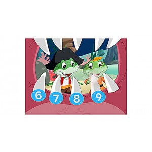 Numbers Ahoy DVD Ages 2-5 yrs. - Clearance Sale