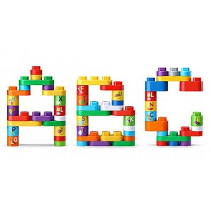 LeapBuilders® 80-Piece Jumbo Blocks Box™ Ages 2-5 yrs. - Clearance Sale