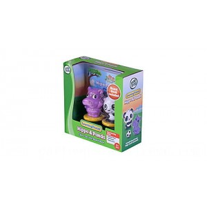 Learning Friends™ Hippo & Panda Figure Set with Board Book Ages 2-5 yrs. - Clearance Sale