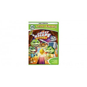 Letter Factory Adventures™: The Great Shape Mystery  DVD + Digital Ages 3-6 yrs. - Clearance Sale