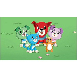 Scout & Friends Adventures in Shapeville Park DVD Ages 2-5 yrs. - Clearance Sale