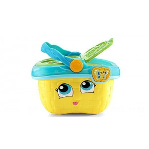 Shapes & Sharing Picnic Basket™ (Yellow) Ages 6-36 months - Clearance Sale