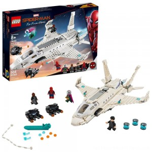 LEGO Super Heroes Marvel Spider-Man Stark Jet and the Drone Attack 76130 - Clearance Sale