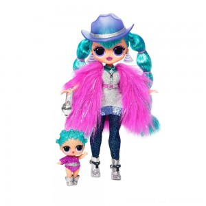 L.O.L. Surprise! O.M.G. Winter Disco Cosmic Nova Fashion Doll & Sister - Clearance Sale
