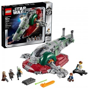 LEGO Star Wars Slave l – 20th Anniversary Collector Edition Collectible Model 75243 Building Kit - Clearance Sale