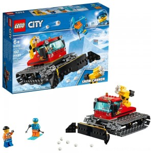 LEGO City Great Vehicles Snow Groomer 60222 - Clearance Sale