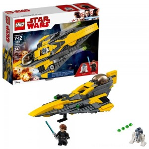 LEGO Star Wars Anakin's Jedi Starfighter 75214 - Clearance Sale