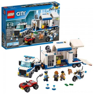 LEGO City Police Mobile Command Center 60139 - Clearance Sale