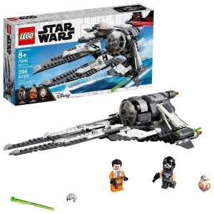 LEGO Star Wars Black Ace TIE Interceptor 75242 - Clearance Sale