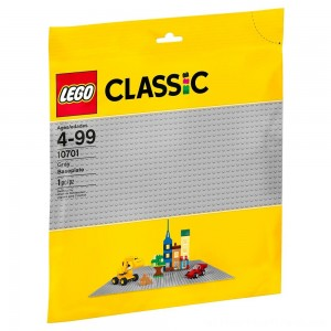 LEGO Classic Gray Baseplate 10701 - Clearance Sale