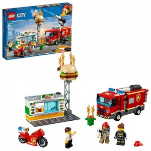 LEGO City Burger Bar Fire Rescue 60214 - Clearance Sale