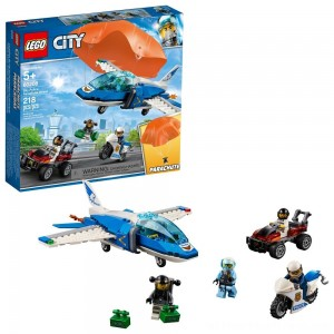 LEGO City Sky Police Parachute Arrest 60208 - Clearance Sale