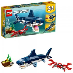 LEGO Creator Deep Sea Creatures Building Kit Sea Animal Toys for Kids 31088 - Clearance Sale