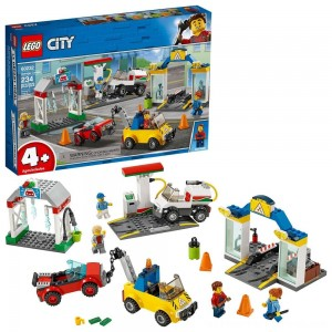 LEGO City Garage Center 60232 Building Kit for Kids 4+ with Toy Vehicle 234pc - Clearance Sale