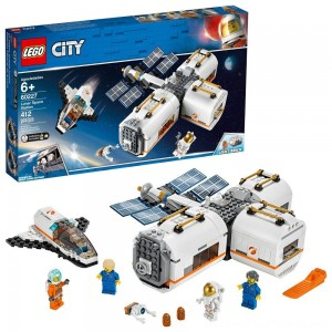 LEGO City Space Lunar Space Station 60227 Space Station Building Set with Toy Shuttle - Clearance Sale