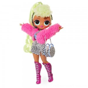 L.O.L. Surprise! O.M.G. Lady Diva Fashion Doll with 20 Surprises - Clearance Sale