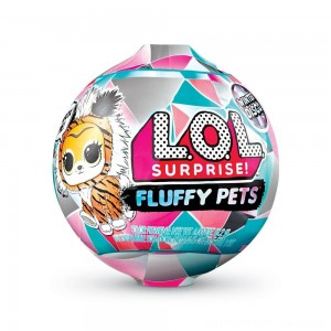 L.O.L. Surprise! Fluffy Pets Winter Disco Series with Removable Fur - Clearance Sale