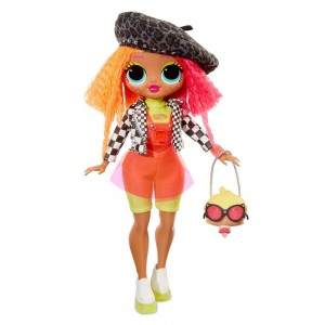 L.O.L. Surprise! O.M.G. Neonlicious Fashion Doll with 20 Surprises - Clearance Sale