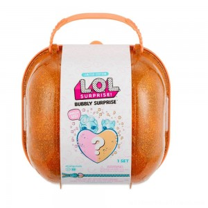 L.O.L. Surprise! Bubbly Surprise with Exclusive Doll and Pet - Orange - Clearance Sale