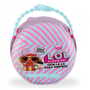 L.O.L. Surprise! Ooh La La Baby Surprise Lil D.J. with Purse & Makeup Surprises - Clearance Sale