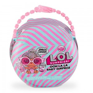 L.O.L. Surprise! Ooh La La Baby Surprise Lil Kitty Queen with Purse & Makeup Surprises - Clearance Sale