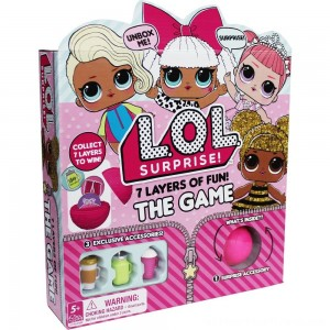 L.O.L. Surprise! 7 Layers of Fun Game, Kids Unisex - Clearance Sale